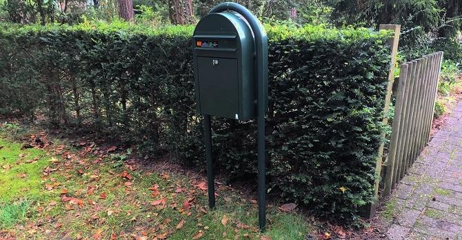 brievenbus vrijstaand