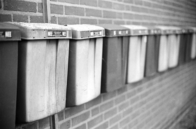 goedkope brievenbus