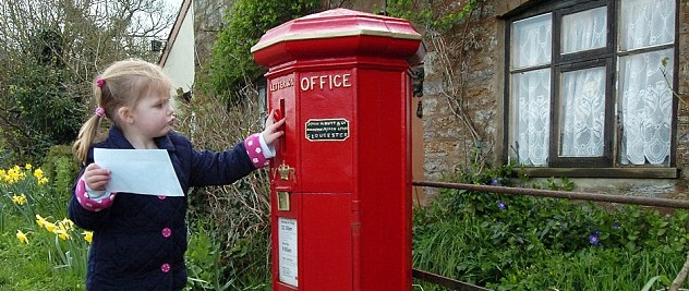 Klassieke brievenbus